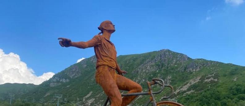 Pantani sui monti della Valle Camonica