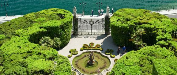 Lake Como in 5 Villas