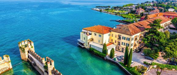 Lago di Garda, tra olivi e limonaie