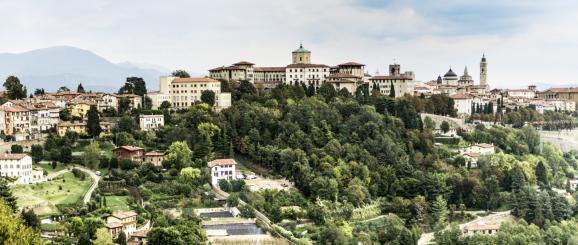 Bergamo, in the Parco dei Colli