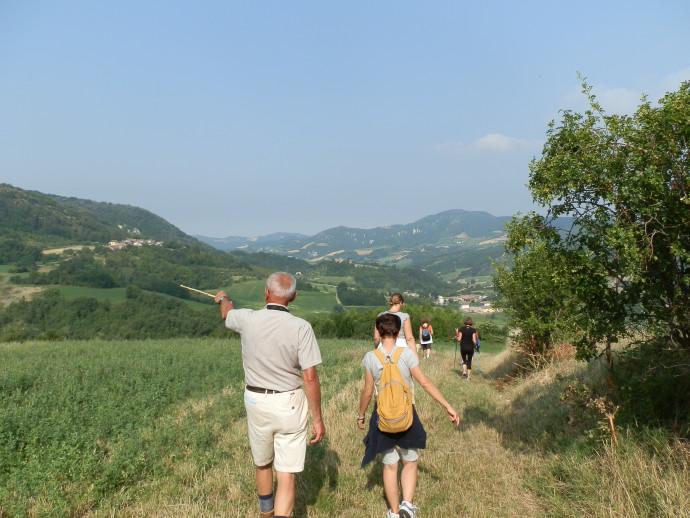 Camminata Sentiero delle Carbonaie