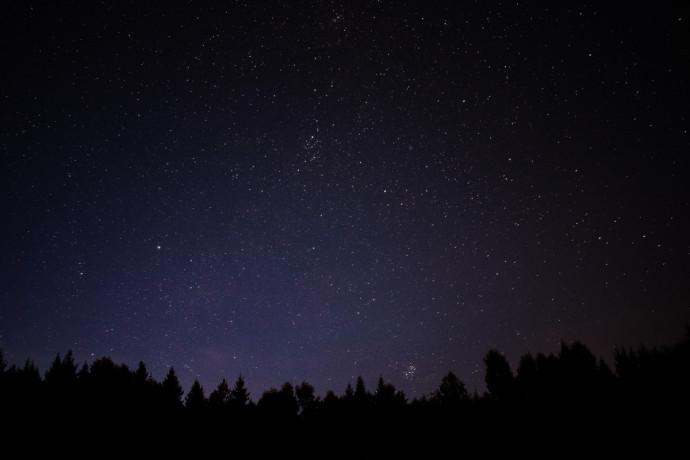 Camminata sotto le stelle