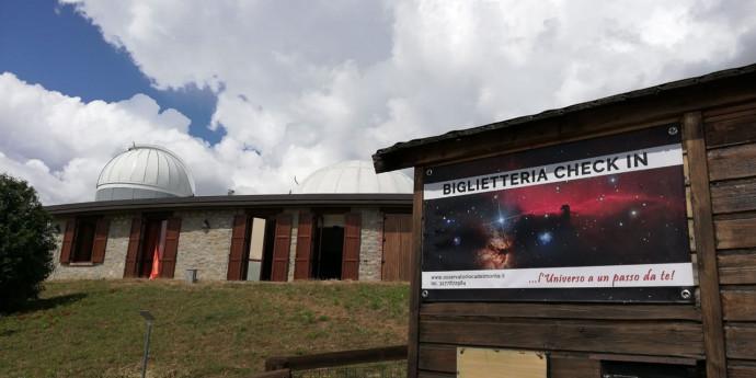 Visita guidata al Planetario e Osservatorio astronomico Cà del Monte
