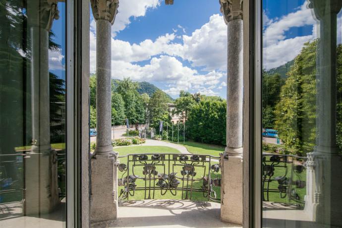 Visioni di Lago da Villa Bernasconi