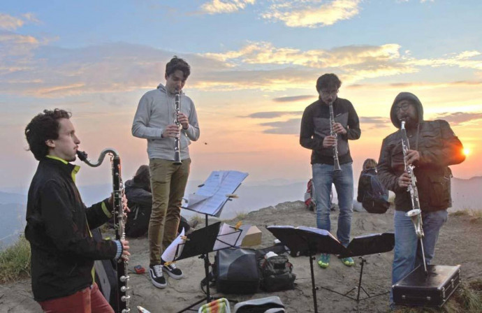 TwoFol Quartet: En plein air