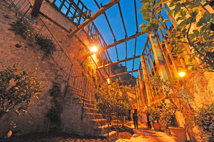 Die Zitronengärten und das olivenöl von Limone del Garda