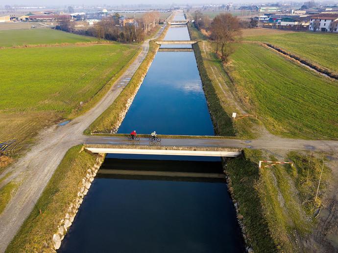 Rive storiche il canale Vacchelli