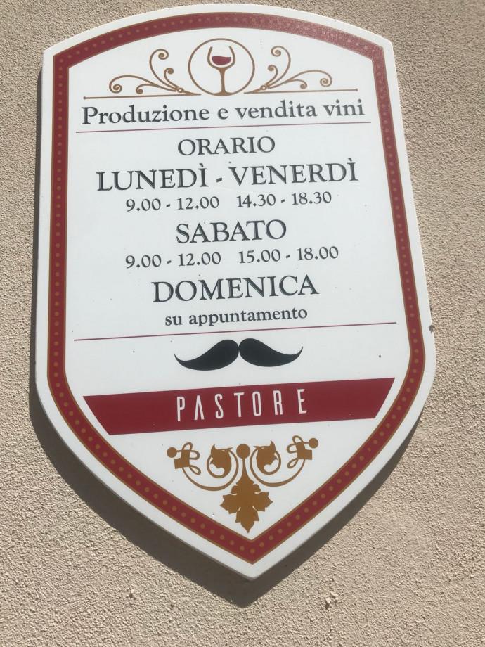 Fratelli Pastore - Vini