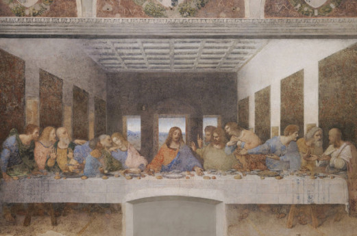 Leonardo da Vinci: early ideas for the Last Supper