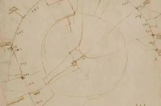 Mappa della Città di Milano - Leonardo da Vinci