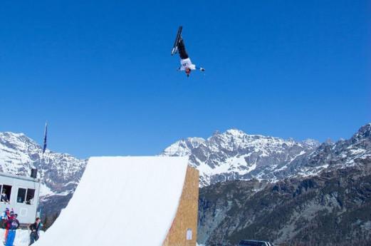 Freestyle Ski Junior Championship in Valmalenco