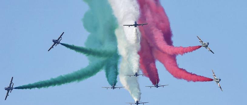 Le Frecce tricolori in Lombardia