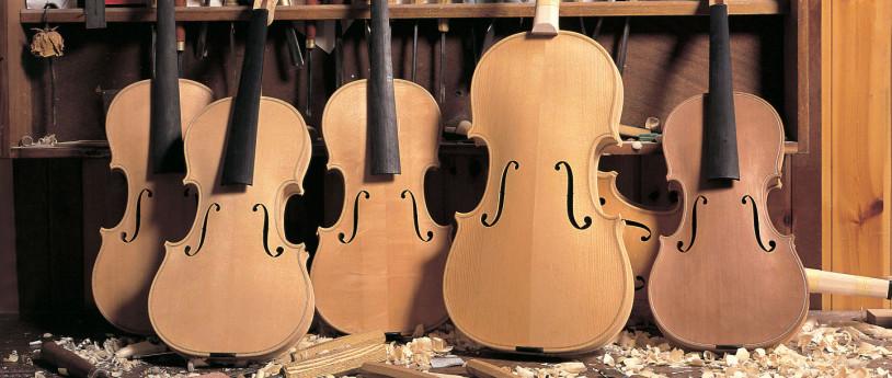 Violini in Bottega