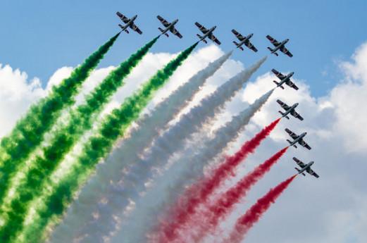 Milano Linate Airshow - frecce tricolori