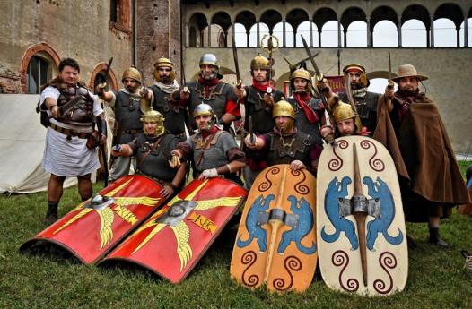 Gli antichi Romani a Vigevano