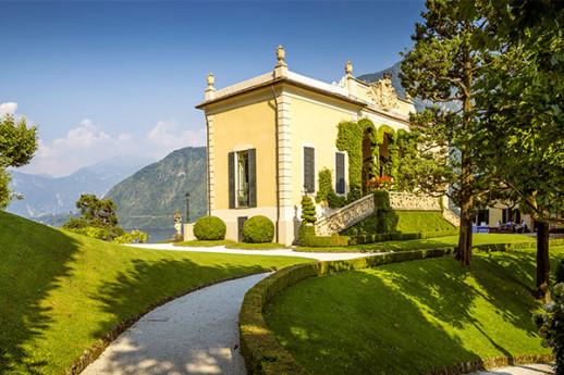 Tramonto in Villa Balbianello