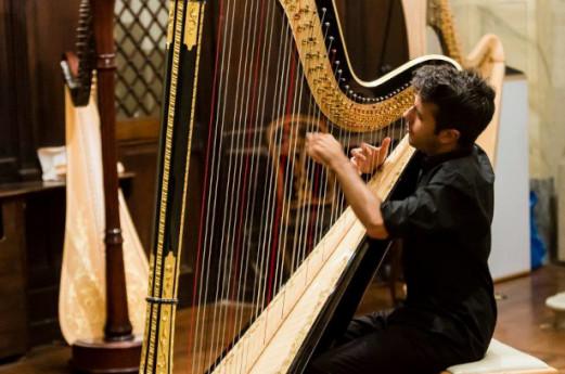 La grande musica a Cernobbio: concerto d'arpa