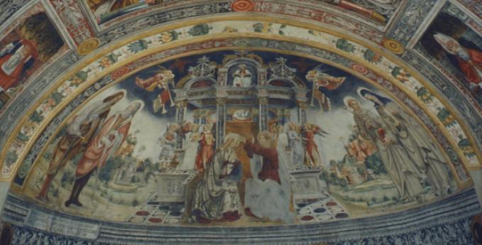 Tour virtuale - L'Incoronazione della Vergine tra santi