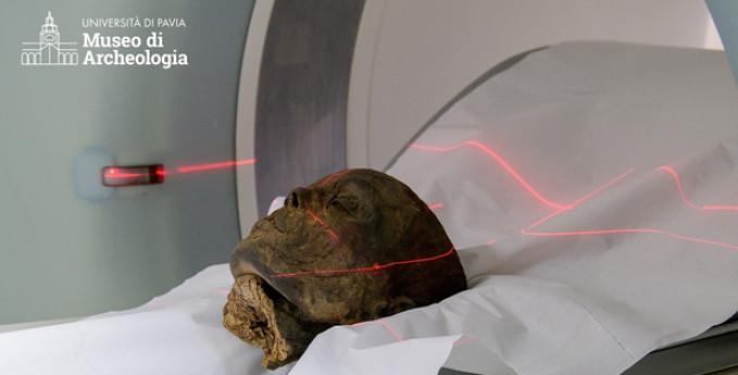 Presentazione delle autopsie virtuali delle mummie del museo di archeologia