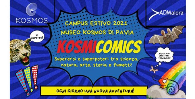 Kosmicomics - campus estivo 2021
