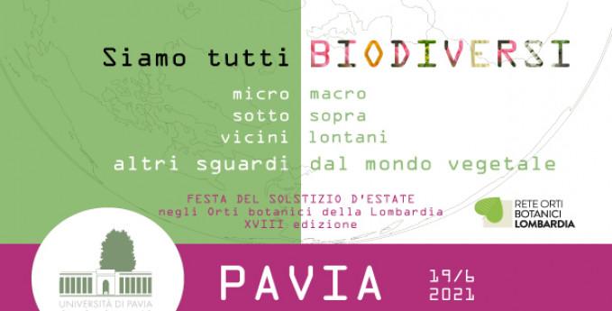 Solstizio d'estate all'Orto Botanico di Pavia