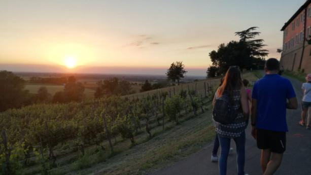 Passeggiata serale all' Oratorio del Pontasso