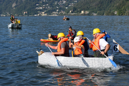 Carton Boat Race