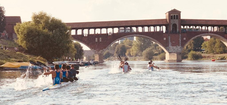 51° Canoe marathon Vigevano – Pavia
