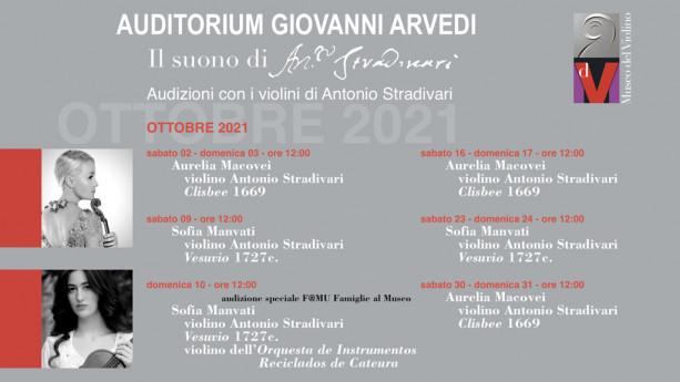 Suono di Stradivari - Audizioni strumenti storici - Sofia Manvati