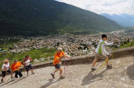 Walking Valtellina Tirano
