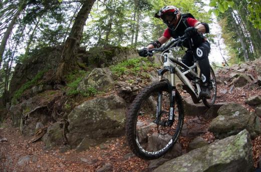 Alto Brembo Discesa con bici MTB