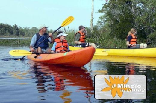 Il Mincio in canoa
