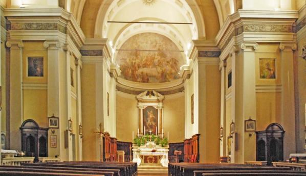 Castelbelforte, Chiesa parrocchiale