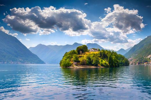 Comacina Island, Lake Como