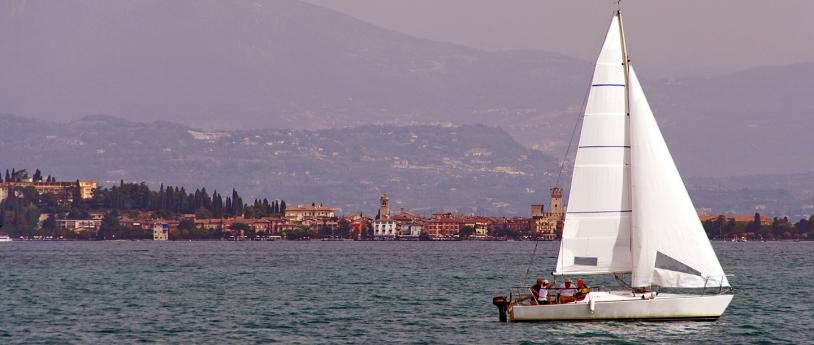 Centomiglia, sailing challenge on the Garda