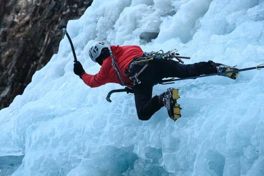 Escalada sobre hielo