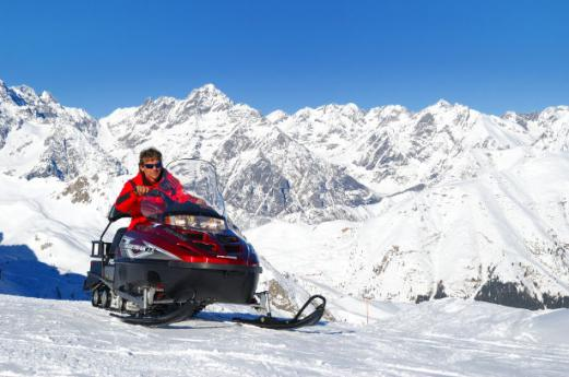 Discovering Val Seriana through chair lifts and snowmobiles
