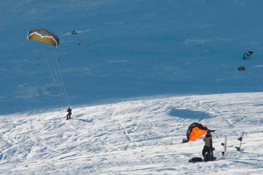 Snowkite in Lombardia