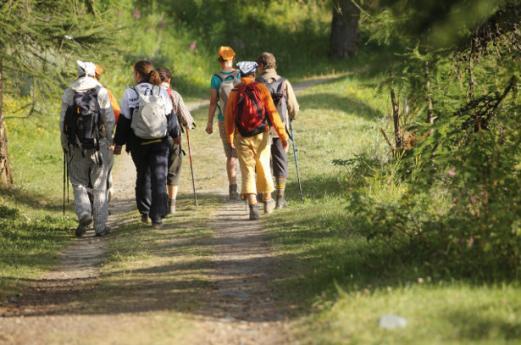 Immersi nella natura, a piedi o in mountain bike