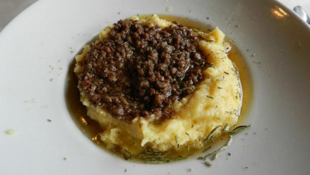 Polenta e Bruscitt recipe, a specialty from Busto Arsizio