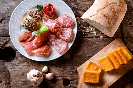 Local specialties in Valtellina