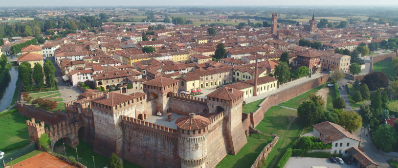 Vista di Soncino (CR)