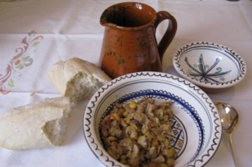 Traditional flavours at the Abbazia di Morimondo