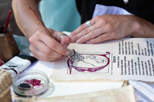 Guida ai laboratori di miniatura nei monasteri di Morimondo e Chiaravalle