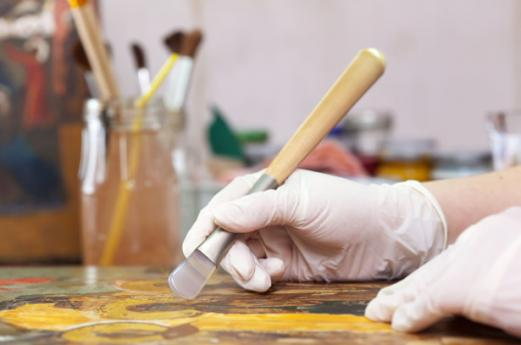 A Morimondo, laboratori sull'arte dell'affresco