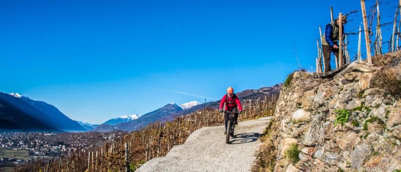 MTB-La via dei Terrazzamenti ciclopedonale