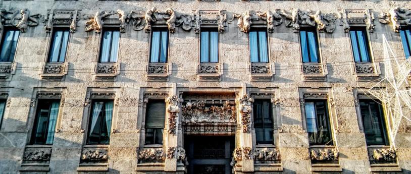 Negozi storici e Liberty a Milano - Palazzo Castiglioni