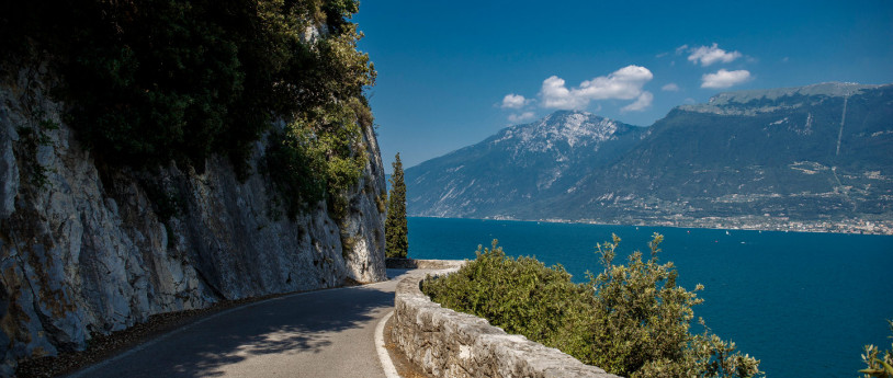 A piedi in Lombardia Strada Forra, Lago di Garda