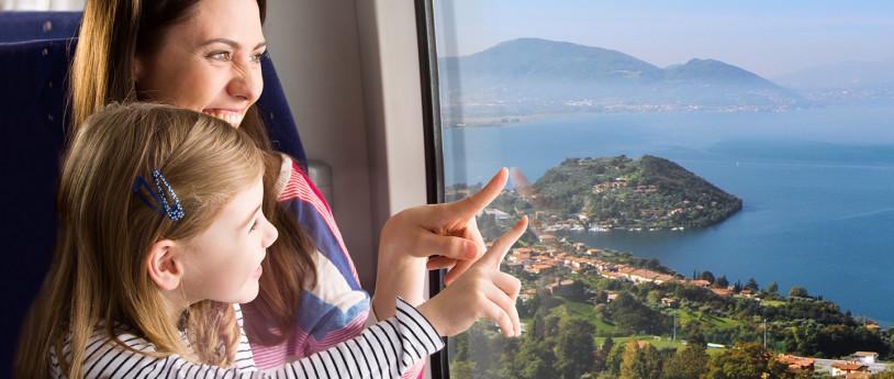 Scopri la Lombardia in treno