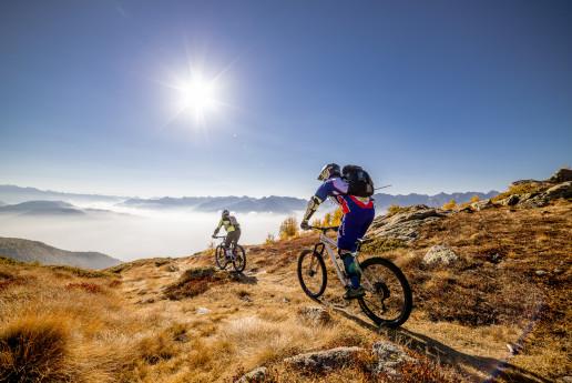In bicicletta da Col d'Anzana alla Val Fontana